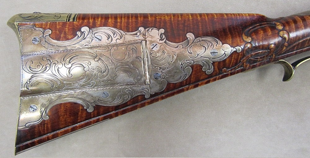 Contemporary makers jud brennan rifle