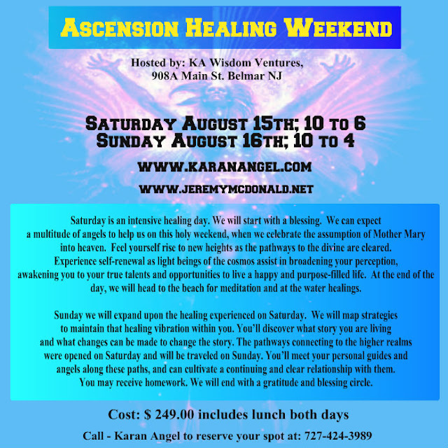 jeremy e mcdonald ascension healing weekend in new jersey details within. Black Bedroom Furniture Sets. Home Design Ideas