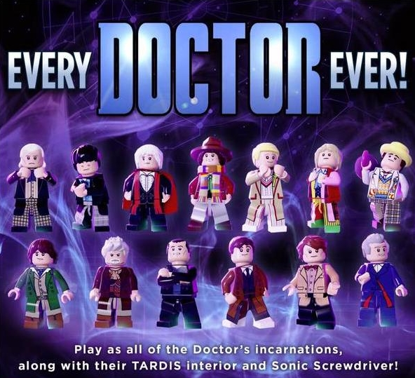 Lego Dimensions (Doctor Who) starter pack is released in the UK ...