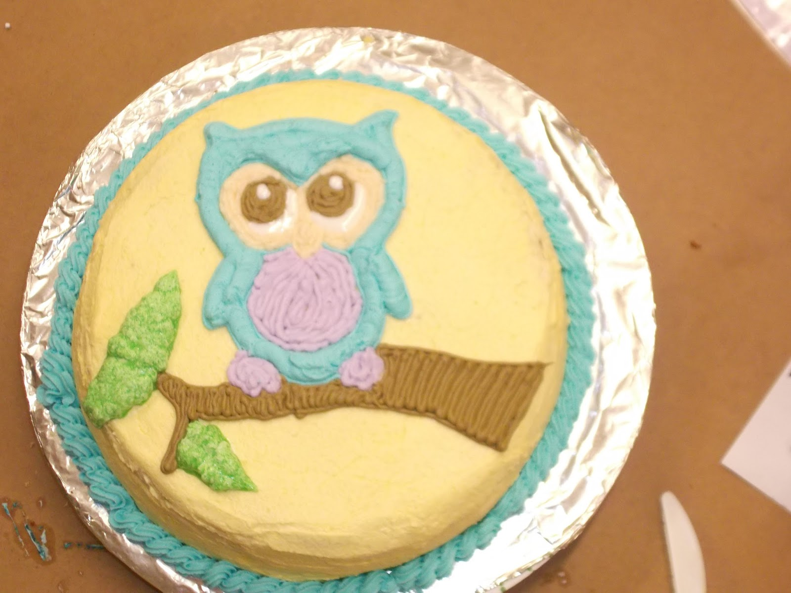 Cake Decorating Classes Ystrad Mynach : Fun with Cake Decorating!: Student Cakes From Class 1