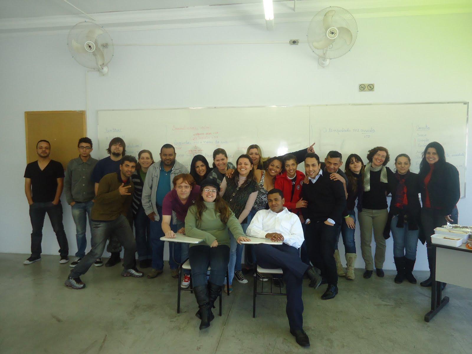 Alunos do curso de Letras