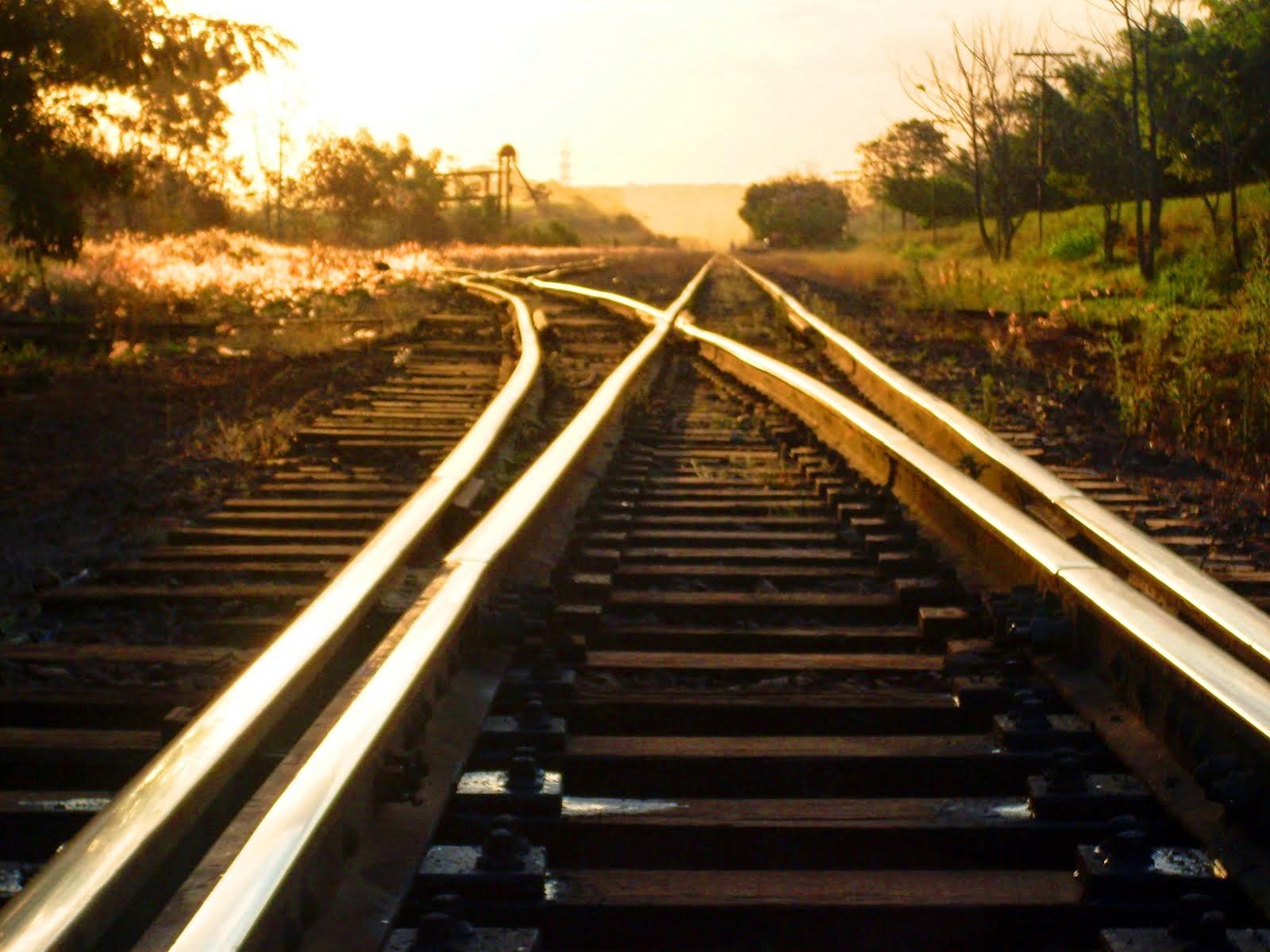 Trilhos de ferro