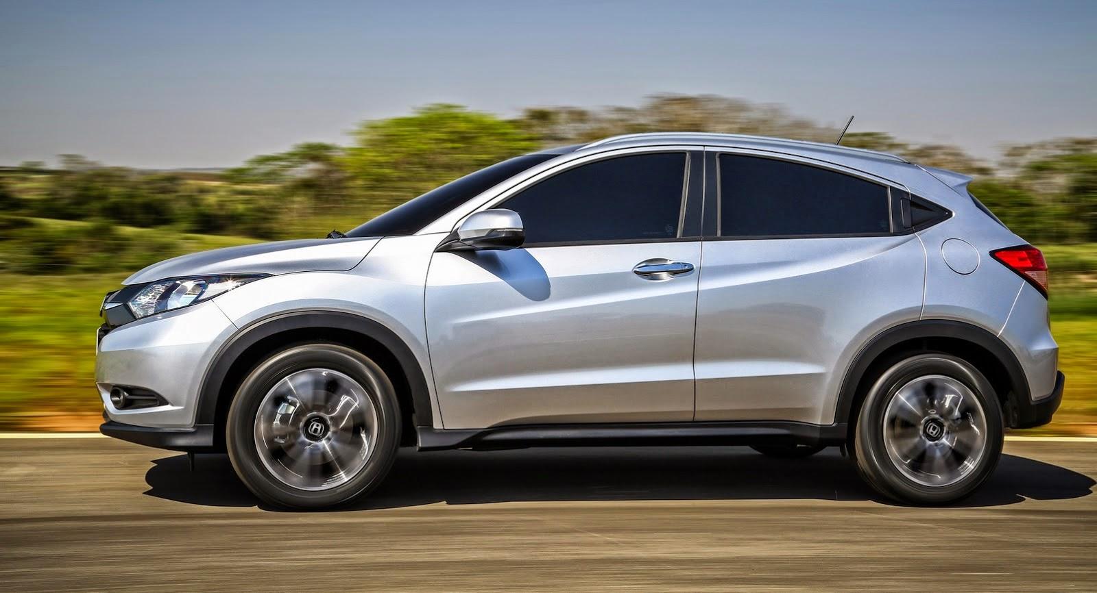 Honda HR-V Version Brazil Introduced