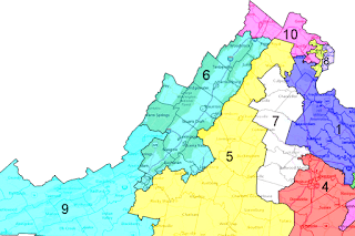 Virginia S Congressional Districts Congressman Of Virginia