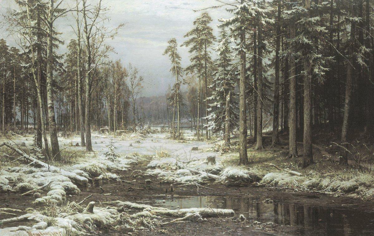 Картинки деревьев ранней и поздней осенью