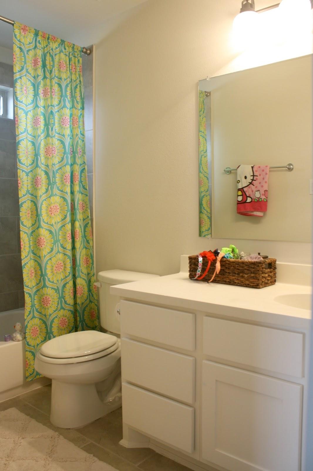 shiplap girl\'s bathroom reveal - Crazy Wonderful