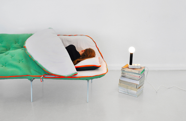 Camp Daybed by Stephanie Hornig (via Nest of Pearls)