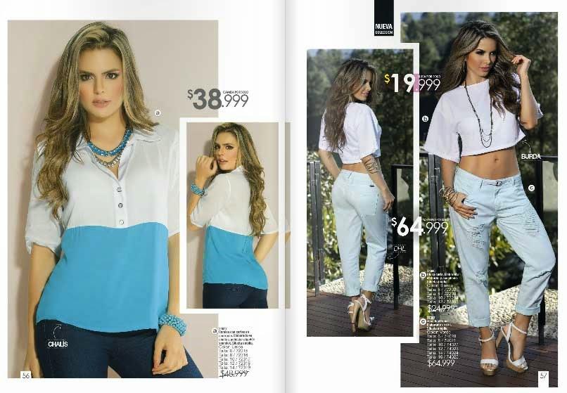 Revista Carmel moda campaña 05 2017 colombia