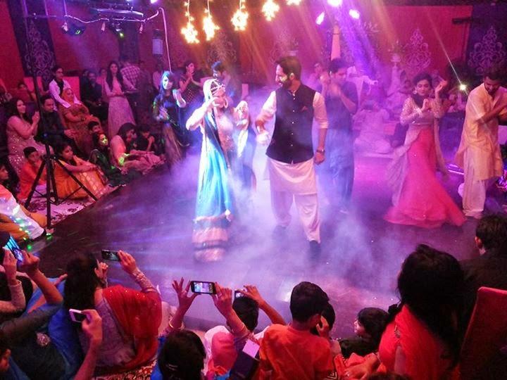 Anoushay Abbasi Mehandi Pictures