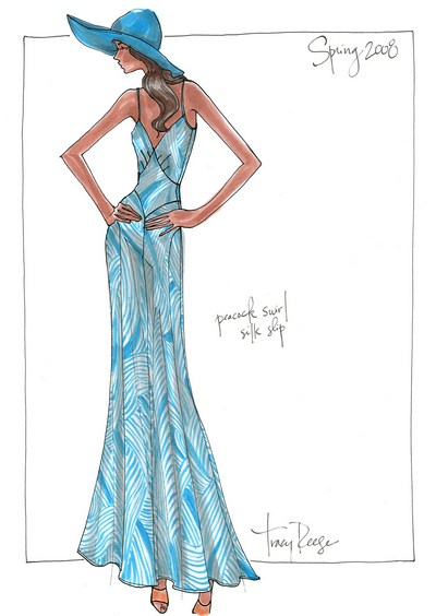 Metrofashion.com 1996-2010 Fashion Sketches Los Angeles New York