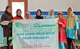 Bank Sampah Melati Bersih Masjid Daarus Salaam