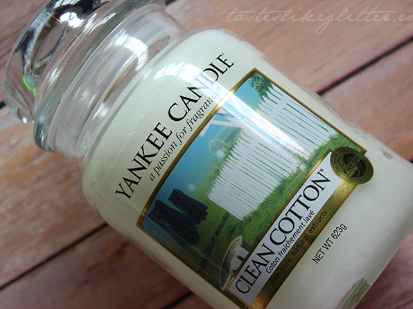 Yankee Candle - Clean Cotton.