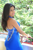 Manali Rathod photos in blue-thumbnail-16