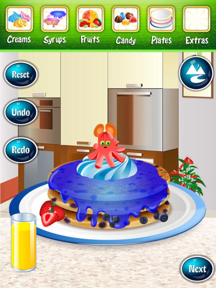 Pancake Maker! App iTunes App By Ninjafish Studios - FreeApps.ws