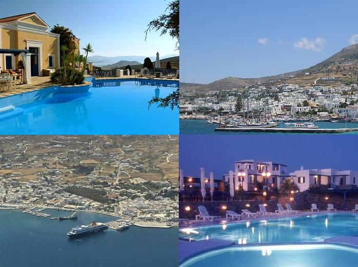 Paros hotels and nature in Greece