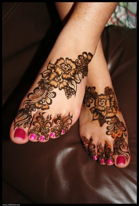Feet Mehndi For Eid : Latest indian sudani pakistani arabic arabian mehndi