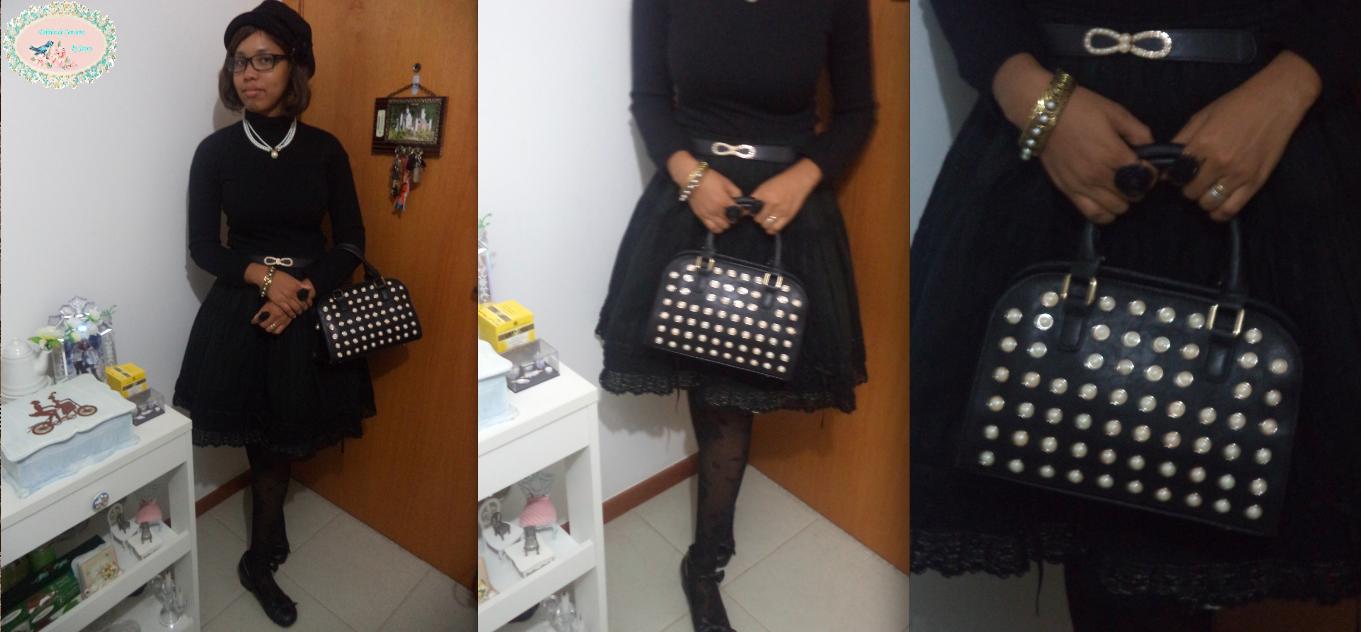 lolita, lolita fashion, look, coordinate, classic, classical, BtSSB, Innocent World, black, blog Delírios de Consumo, jennysakura