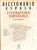 Diccionario Espasa. Literatura española