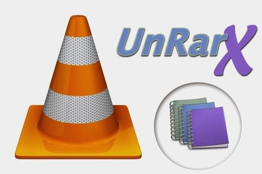 Instalador vlc, unrarx, adware
