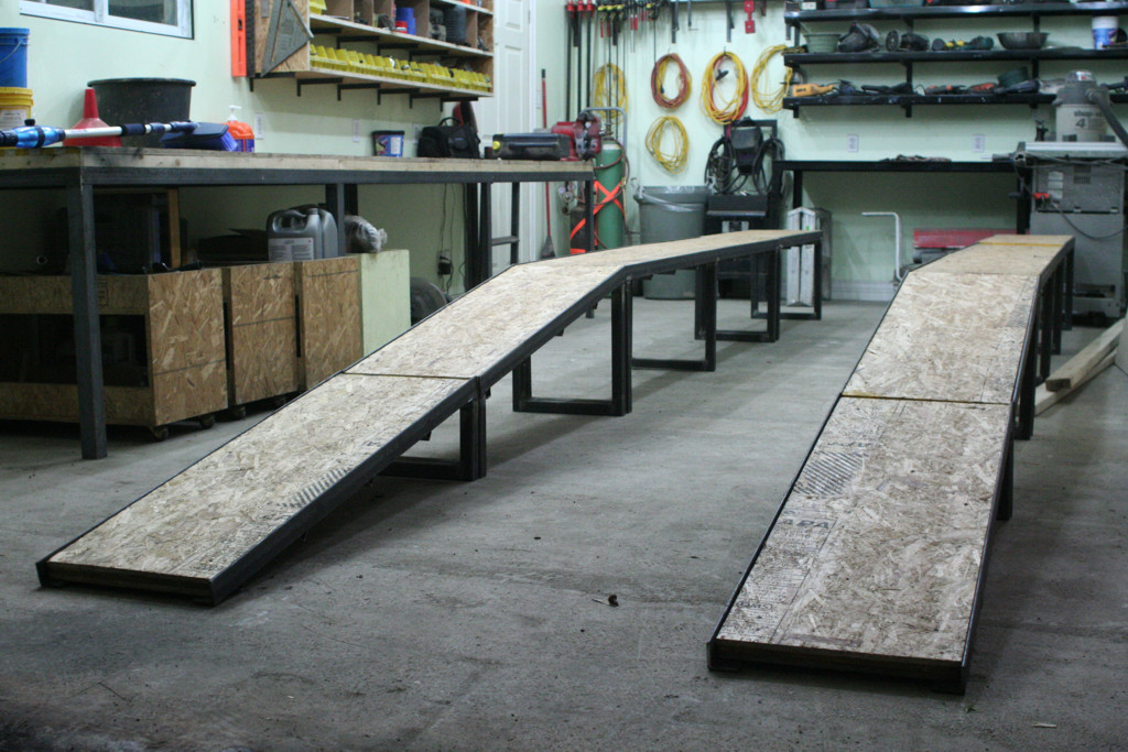 Wooden Car Ramp Safe For  Year Old