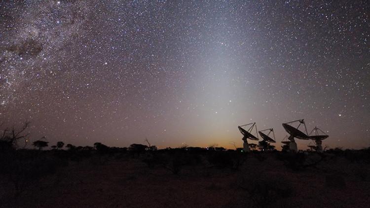 Detectada una señal emitida por la galaxia PKS B1740-517