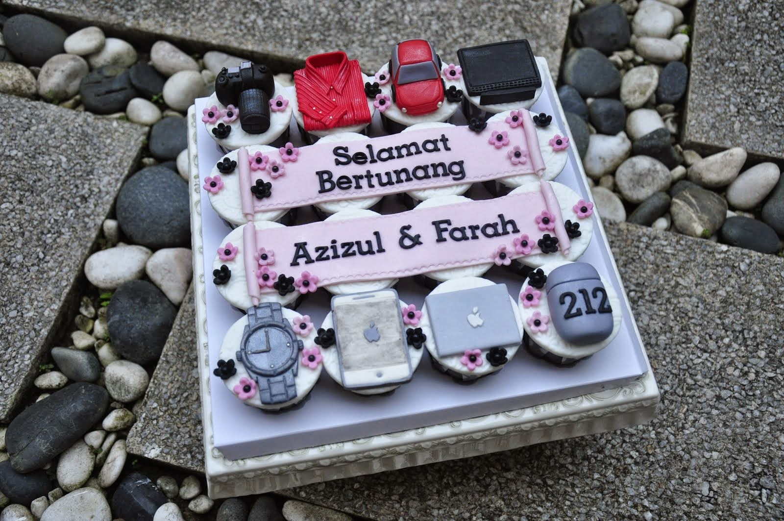 .: Set Hantaran - Cupcakes :.
