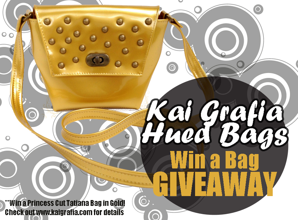 Banner for Win a Bag Giveaway hosted by Kai Grafia