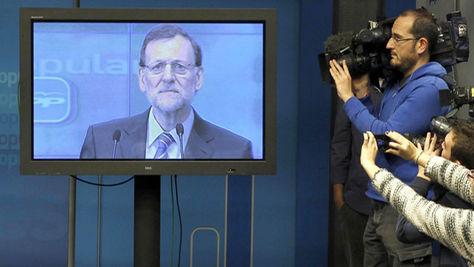 Rueda de prensa de Rajoy sin preguntas
