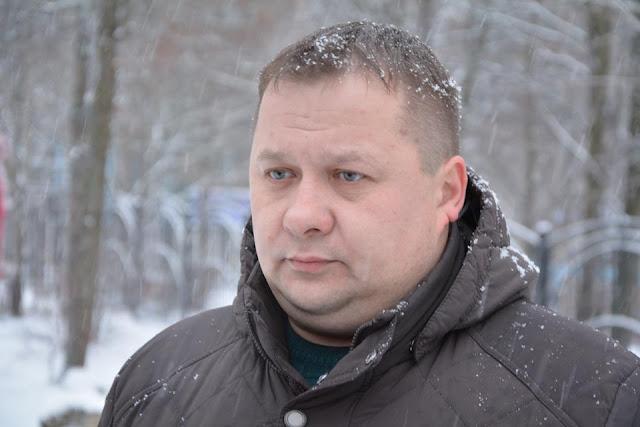 Замглавы администрации Березняковского поселения Александр Белоус.