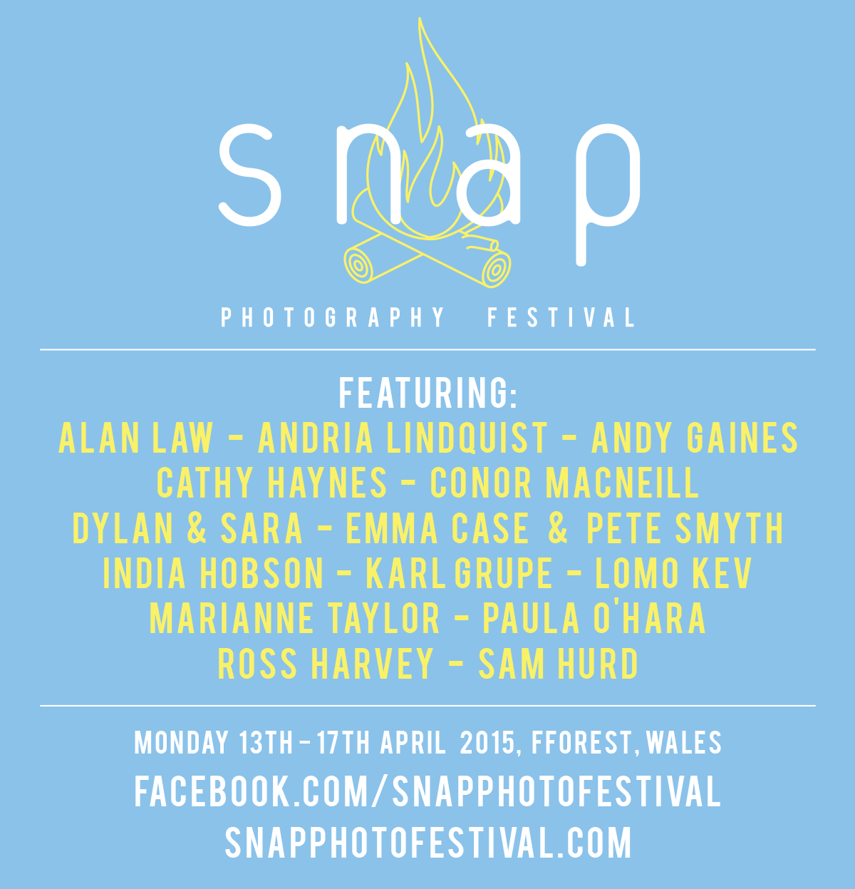Snap Photography Festival - 13th - 17th April 2015