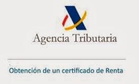 certificado IRPF