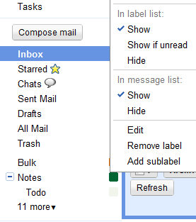 Superstars and Nested Labels, Now Standard Gmail Features
