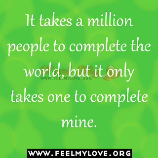 It takes a million people to complete the world