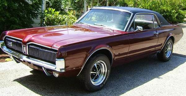 Classic Muscle Car Mercury Cougar Xr7 Buy American