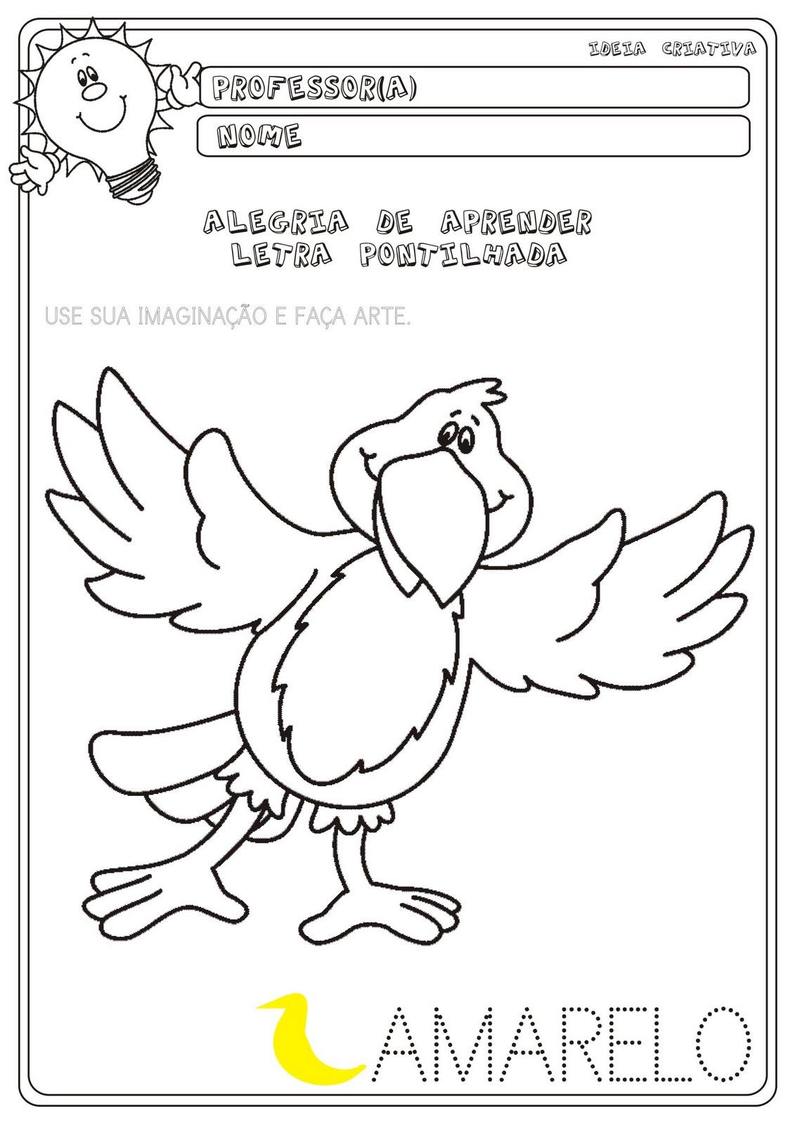Conhecido Atividade Artes Educação Infantil   Ideia Criativa - Gi Barbosa  FE51