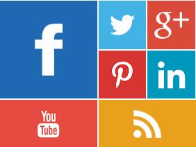 Cara Membuat Widget Social Retro Keren