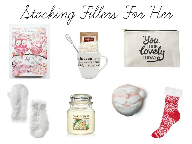 Christmas Stocking Fillers For Her 2014