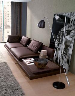 salas_modernas con muebles elegantes