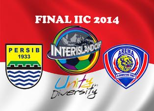 Tebak Skor Berhadiah SSH Premium, PERSIB VS AREMA Final IIC - 2014