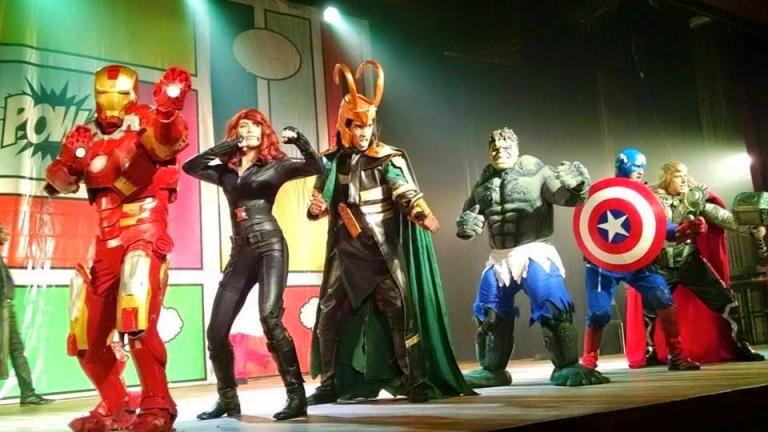Heróis - O incrível musical dos Vingadores - foto divulgação internet