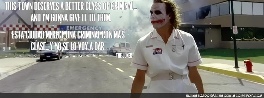 The joker frase portada para facebook