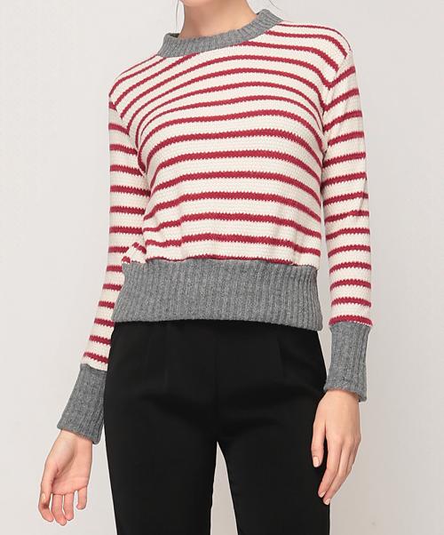 Striped Varsity Sweater