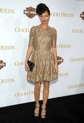 Thandie Newton Arrival in Award Show
