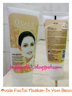kemasan Ovale Facial Mask in Yam Bean