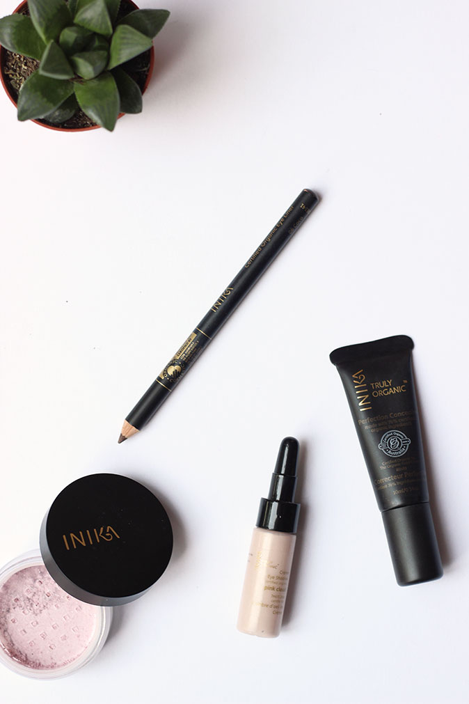 Inika Certified Organic Cosmetics Natural Makeup Look