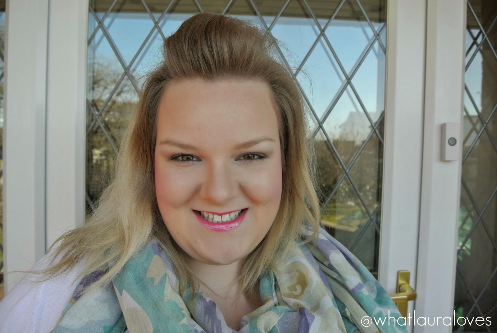 L'Oreal Colour Riche 370 Crazy Fuchsia Lipstick Glam Shine Crystals Beryl Strass Sapphire Strass