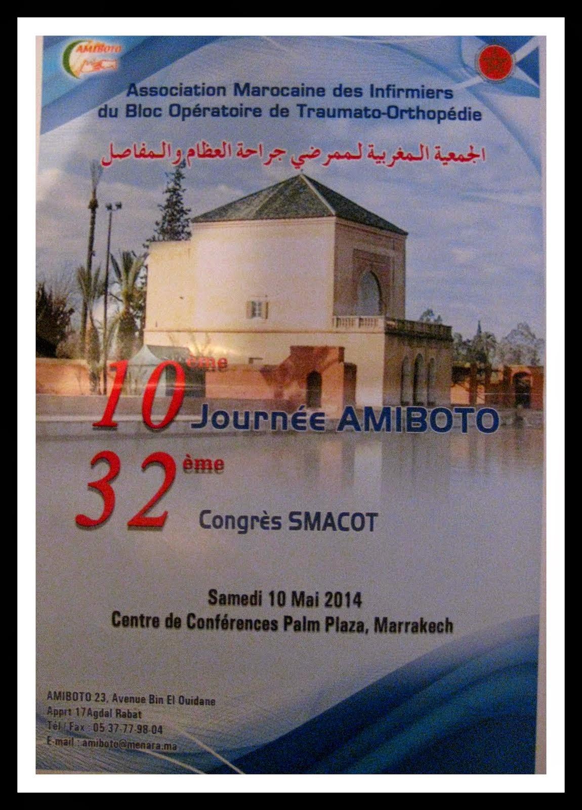 LA JOURNEE D AMIBOTO LE SAMEDI 10 MAI 2014 HOTEL PALM PLAZA MARRAKECH