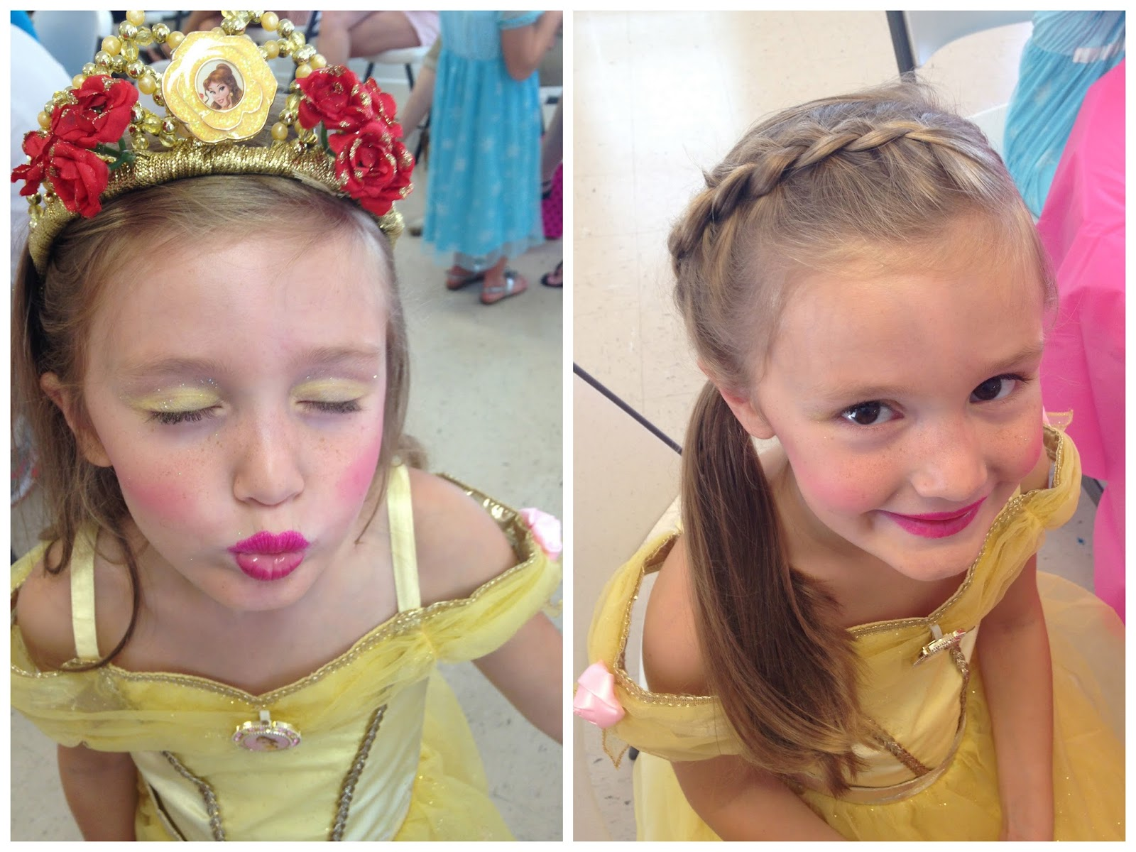 hannah attended a princess a princess for christmas 2