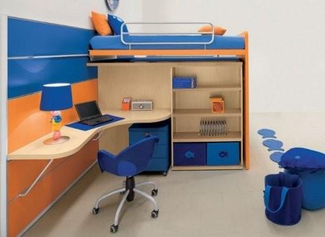 Muebles modernos para el dormitorio infantil infantil decora for Muebles infantiles modernos