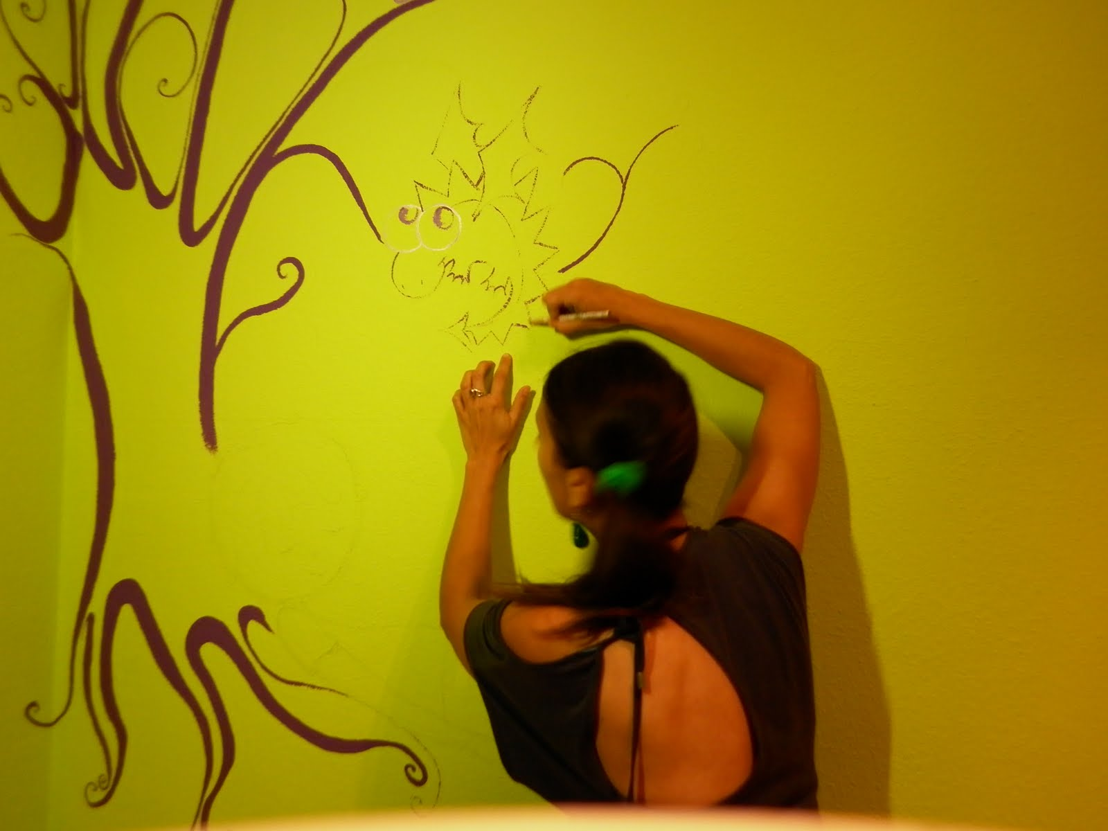 Susoleto cosas de casa pintar en la pared dibujos dibujo - Dibujos para pintar paredes ...